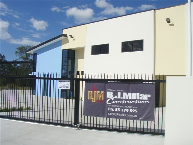 Architecturally Designed Custom Built Tilt Slab Commercial Factory | BJ  Millar Constructions